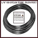 "Utah Pneumatic 1/4"" Od 10 Meters SAEJ844 Air Brake Tubing Nylon Air Hose For Air Brake System Or Fluid Transfer(nylon tube 1/4"")"