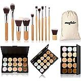Mefeir makeup brushes professional 11 pcs brush set kit pincel maquiagem maquillaje...