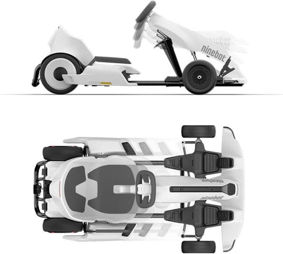 Kart de suspensión para Todo Terreno para Scooter de Auto Equilibrio deKit de Kart Modificado Ninebot Xiaomi No. 9 Balance Car, diseño Mejorado con suspensión Debajo del Asiento para máxima Comodidad