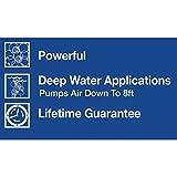 Tetra Whisper AP150 aquarium Air Pump, For Deep