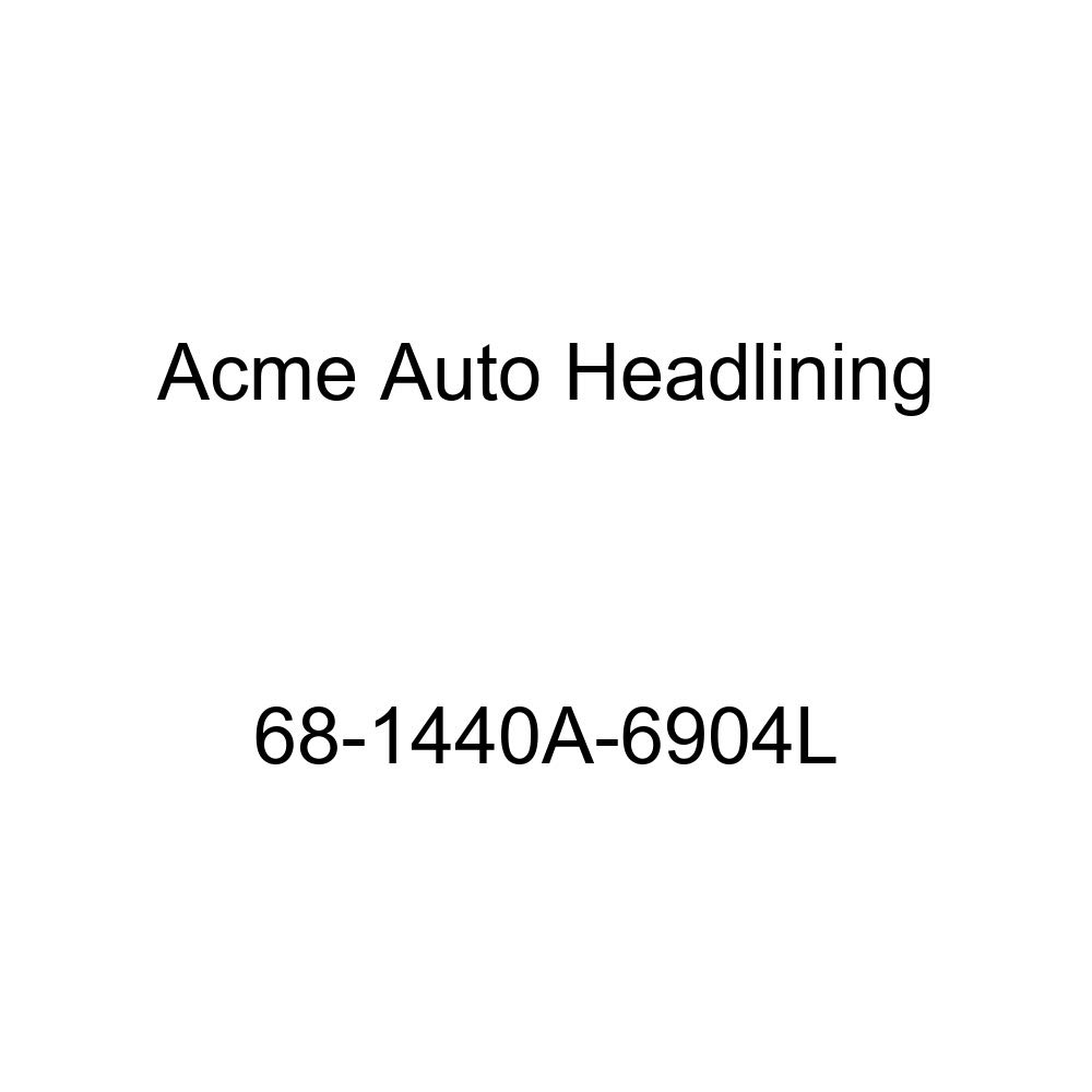 Acme Auto Headlining 68-1440A-6904L Apple Green Replacement Headliner Chevrolet Chevelle 2 Door Coupe 6 Bow