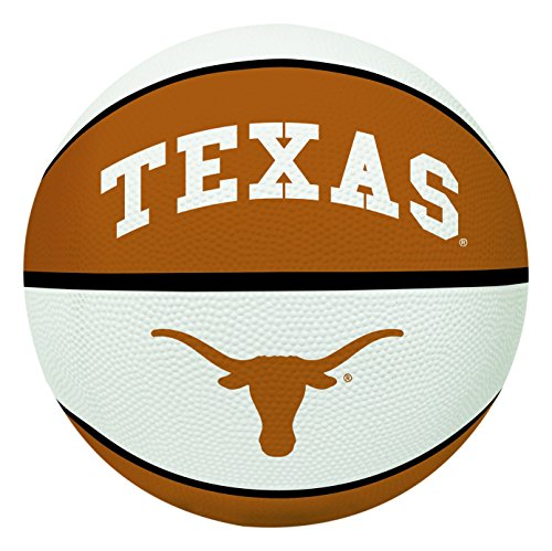 (NCAA Texas Longhorns Crossover Full Size Basketball by Rawlings)