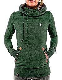 YACUN Women's Coats Jackets Casual Sweatershirt Fleece Hoodie