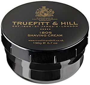 Truefitt & Hill 1805 Shave Cream Jar,6.7-Ounces (190 gm)