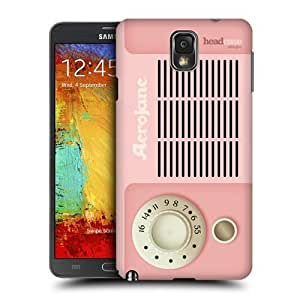 AIYAYA Samsung Case Designs Aerojane Vintage Radio Phone Protective Snap-on Hard Back Case Cover for Samsung Galaxy Note 3 N9000 N9002 N9005
