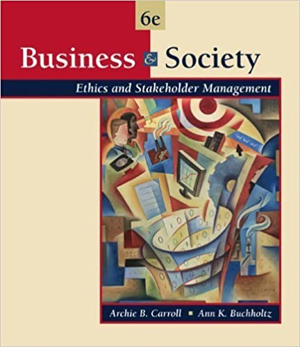 Manuels Kindle téléchargerBusiness and Society Ethics and Stakeholder Management by Carroll, Archie B., Buchholtz, Ann K. [Cengage Learning,2005] [Hardcover] 6TH EDITION (French Edition) PDF PDB