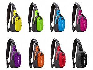 LC Prime® Chest Bag Shoulder Sling Unbalance Backpack Satchel Outdoor Travel Bike by LC Prime