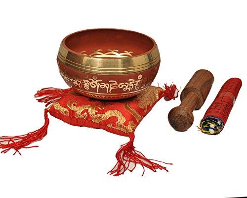 Tibetan Singing Bowl Set By Dharma Store With