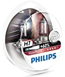 Philips 12972VPS2 VisionPlus - Bombillas H7 para faros delanteros (2 unidades)