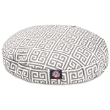 Grey Towers Grey Towers Small Round Indoor Outdoor Pet Dog Bed With Removable Washable Cover By Majestic Pet Products