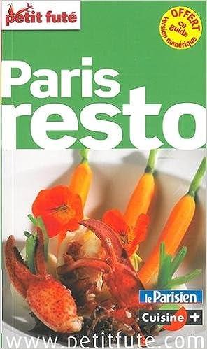 Livres gratuits en ligne Petit Futé Paris resto pdf, epub ebook