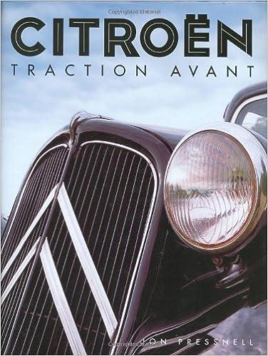 Citroen Traction Avant: Amazon.es: Jon Pressnell: Libros en idiomas extranjeros