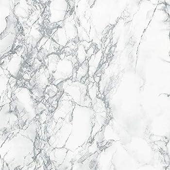 d-c fix 346-8306-4PKA Decorative Self-Adhesive Film, Grey Marble, 17