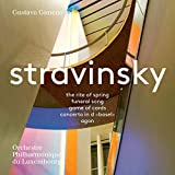 Stravinsky: The Rite of Spring; Funeral Song; Jeu de cartes; Concerto in D; Agon