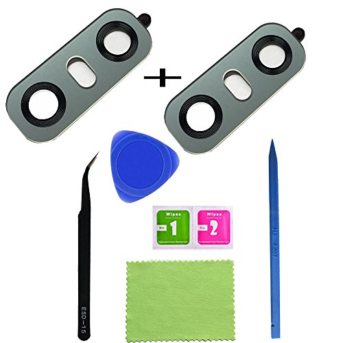 Price comparison product image Eaglestar 2pcs True Glass Rear Camera Cover Lens Replacement for LG G6 H870 H871 H872 H873 LS993 VS998 US997 H870DS+1 Set Repair Tool