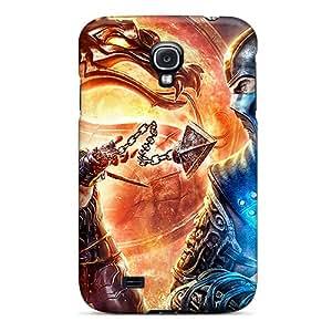 Tpu MiRoman Shockproof Scratcheproof Mortal Kombat Hard Case Cover For Galaxy S4