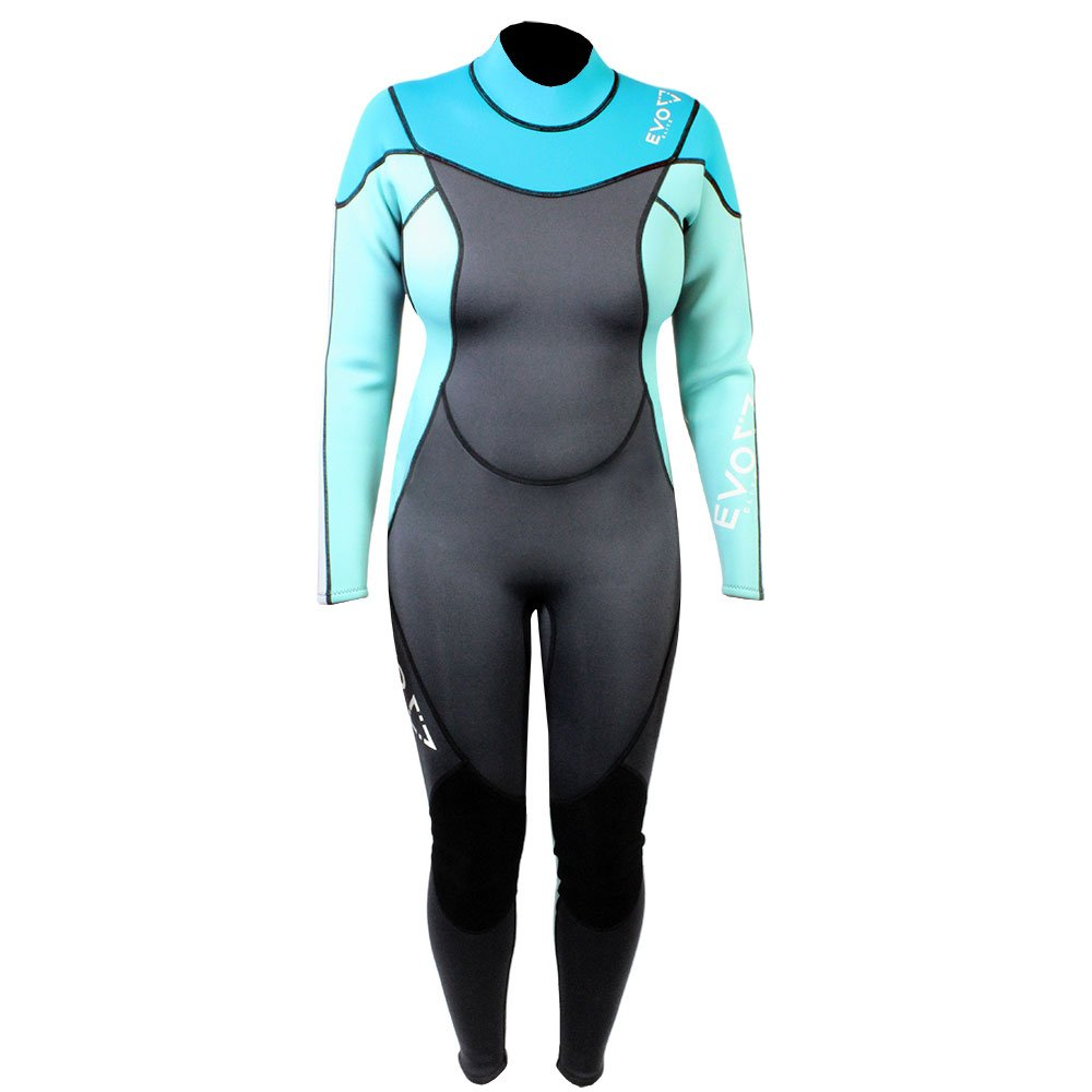 EVO ELITE 3 mm super-stretch Full Scubaウェットスーツ(女性用) 15 /16 Aqua