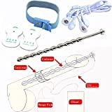 Hot Sale Upgrade Stainless Steel Catheter Urethral Sound Electro Shock Penis Cock Rings Themed of Sex Toys for Men