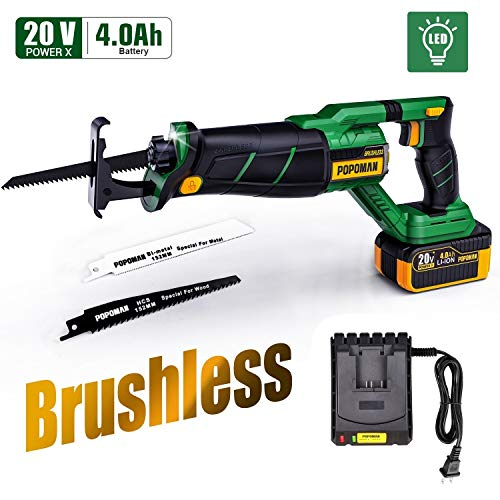 Brushless Reciprocating Saw