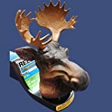 Moose with Antlers Trailer Hitch Ball Cover for Truck SUV Rv or Boat