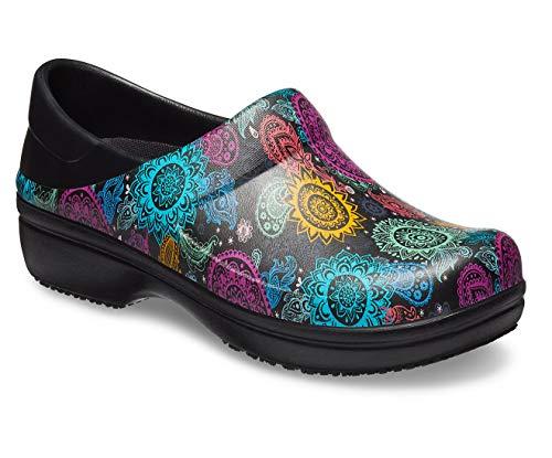 - Crocs Women's Neria Pro II Graphic Clog, Black/Multi Floral, 11 M US