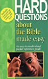 Hard Questions about the Bible Made Easy, Mark Water, 1565636147