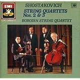 Shostakovich - String Quartets nos. 2, 3 /Borodin string quartet