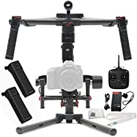 DJI Ronin-M 3-Axis Brushless Gimbal Stabilizer Includes Manufacturer Accessories + DJI Intelligent Battery for Ronin-M + Microfiber Cleaning Cloth