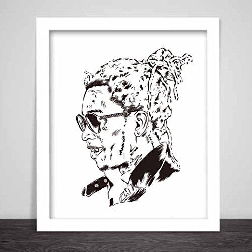Young Thug Art Poster Slime season thugger