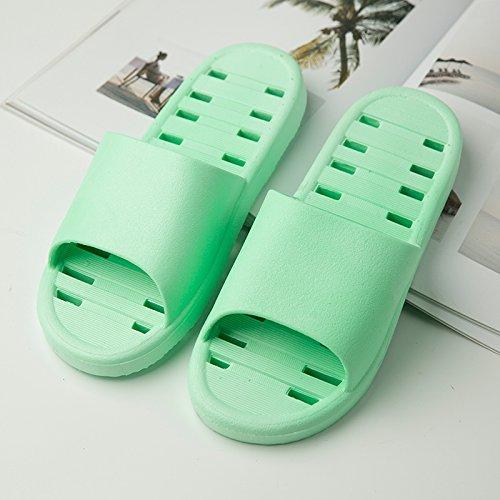 scarpe home morbida suola scarpe scarpe sandali schiuma YMFIE piscina pantofole ladies' bagno antislittamento uomini bagno Doccia green da UxBzXz