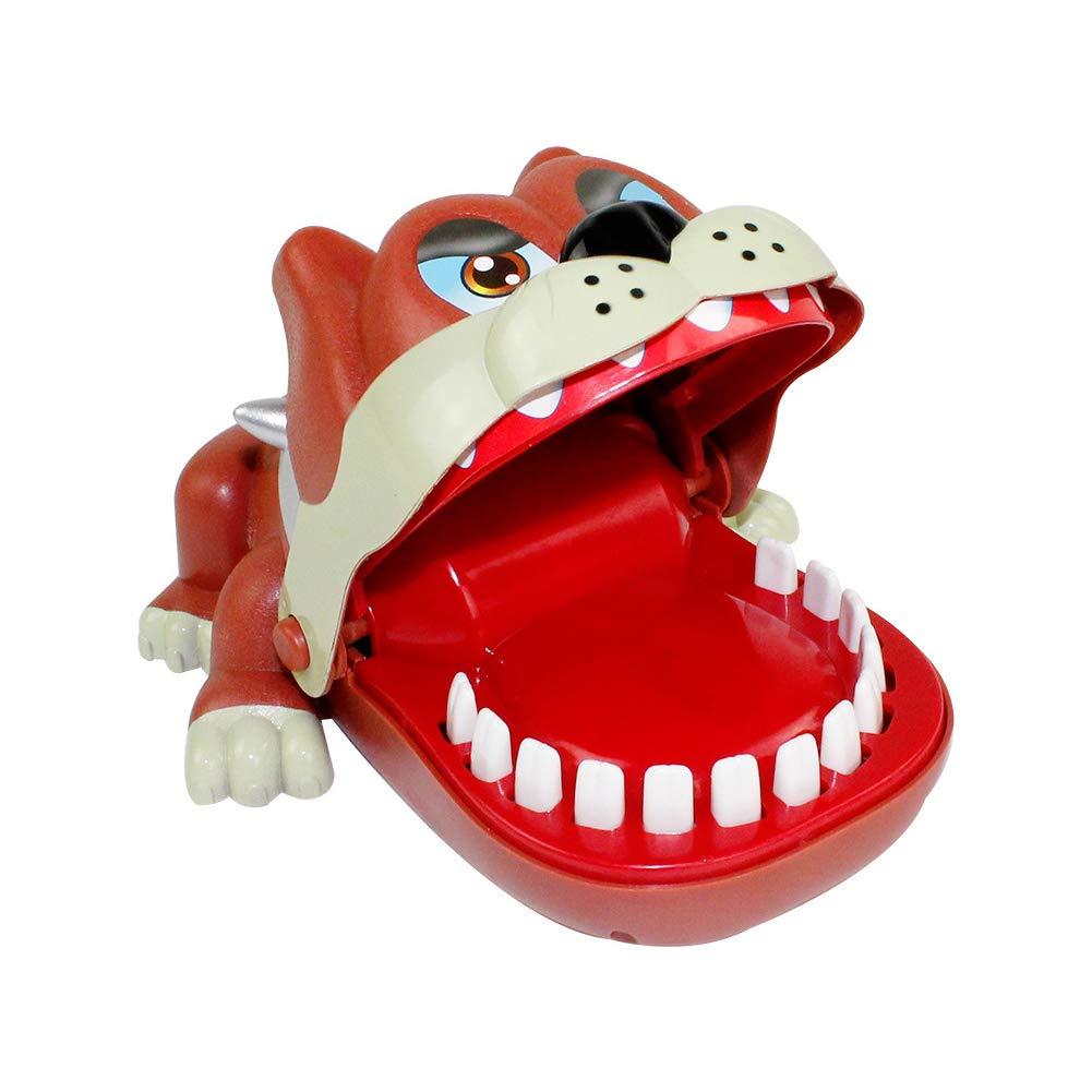 Trifycore Hund geformt Biting Finger Spiel Funny Spielzeug Reaktionsf/ähigkeit Spielzeug Eltern-Kind-Spielzeug OppBag 1pc