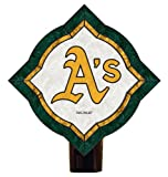 MLB Oakland Athletics Vintage Art Glass Nightlight