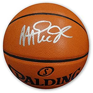Magic Johnson Hand Signed Autographed NBA I/O Full Size Basketball Beckett COA