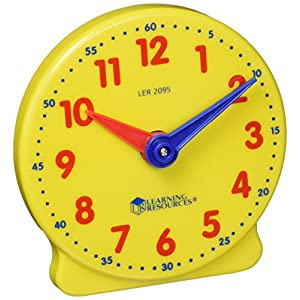 Learning Resources Big Time Student Clock, Teaching &...