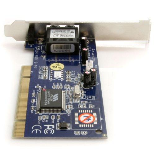 StarTech.com PCI100MMST 100Mbps PCI Multi Mode ST Fiber Ethernet NIC Network Adapter 2km by StarTech (Image #3)