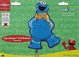 dcf10daa0381 Sesame Street Cookie Monster Big Face Blue Infant Baby Onesie Romper ...