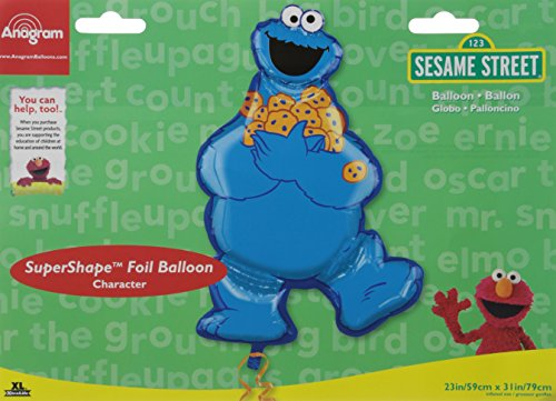 Anagr (Cookie Monster Party Supplies)