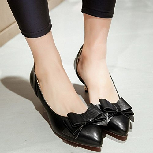 Black Bow Pumps Dolc Donna Zanpa da OSw8Wz