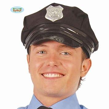 Guirca Fiestas gui13714 - Sombrero de policía  Amazon.es  Juguetes y juegos 092f4aa5440