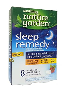 Soothing Naturre Garden Sleep Remedy (8 Tablets)