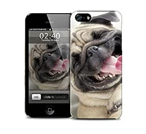 funny pug iPhone 5 / 5S protective case