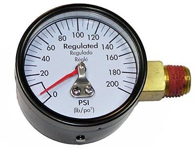 DeWalt Compressor Replacement (2 Pack) Air Pressure Gauge # A10691-2pk