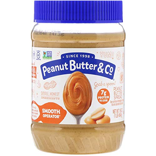 All Natural Peanut Butter & Co. Smooth Operator Net Wt. 16 Oz (1LB) 454g