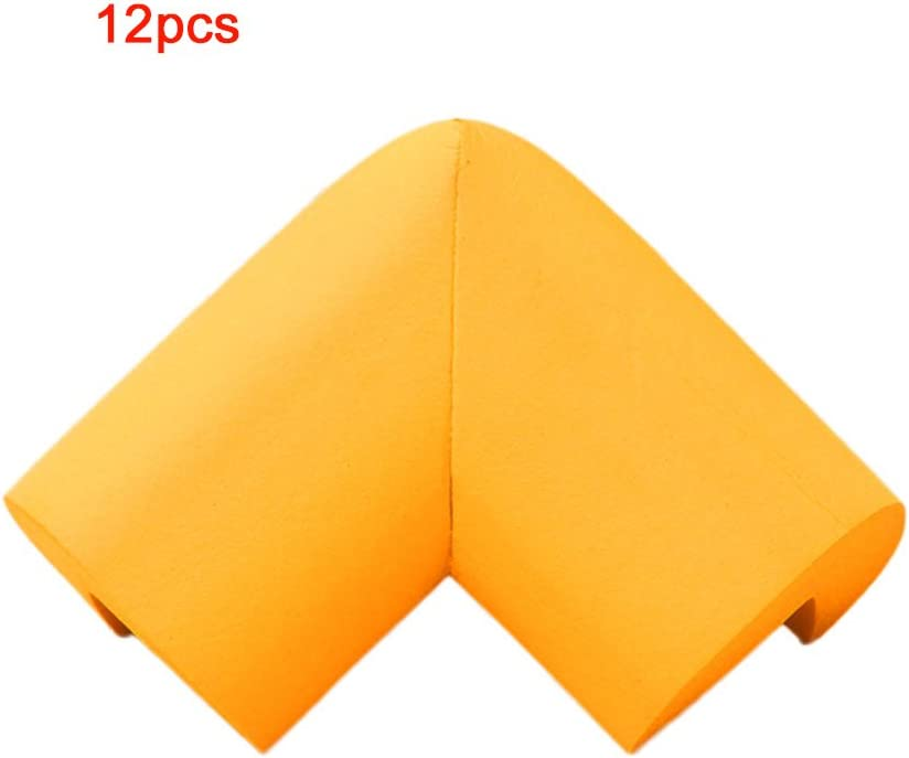 Safety Corner Protectors for Kids Mumustar 12Pcs Furniture Table Desk Edge Corner Guards Cushion Plastic Safety Bumpers with Adhesive White