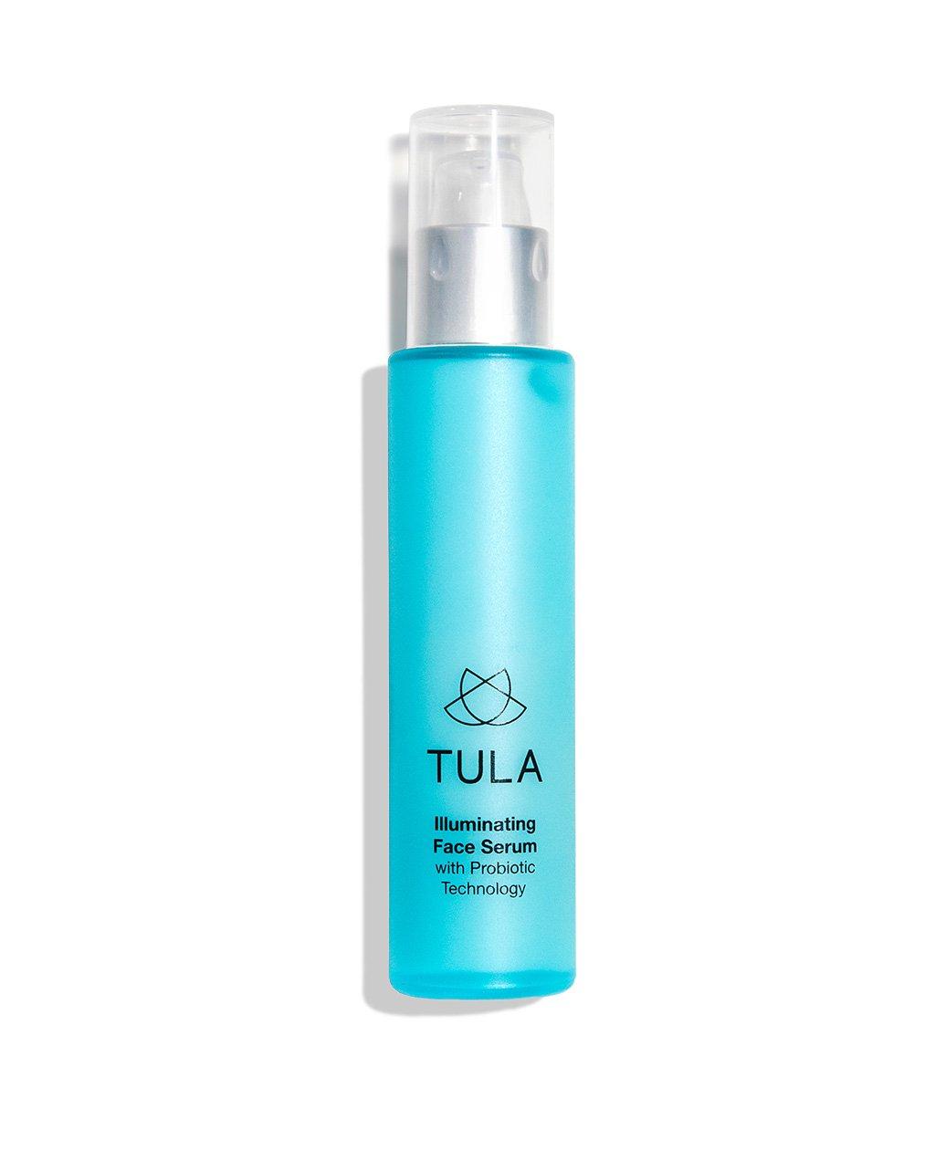 TULA Probiotic Skin Care Illuminating Face Serum, 1.6 oz. – Anti-Aging & Tone Correcting Facial Serum for Smooth & Even Complexion