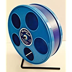 "SMALL ANIMAL 8"" JR. WODENT WHEEL (DK. BLUE W. BLUE PANELS)"