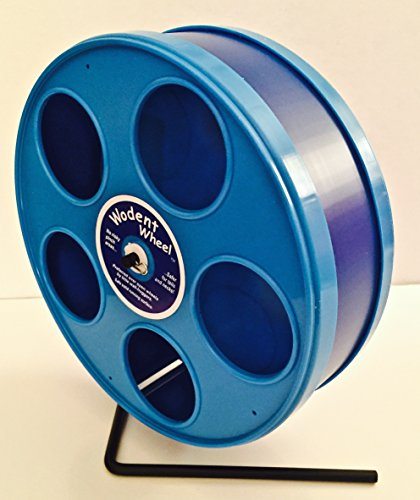 SMALL ANIMAL 8'' JR. WODENT WHEEL (DK. BLUE W. BLUE PANELS) by Unknown (Image #1)