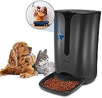 PUPPY KITTY 6.5L-7L Alimentatore Distributore Automatico di Cibo per Cani Gatti Animali Domestici Display LCD