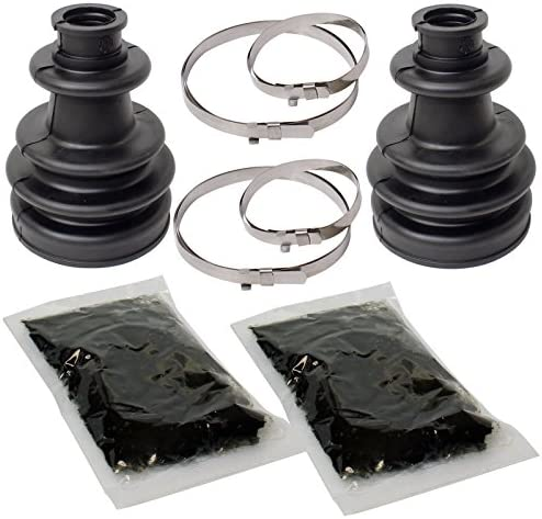 OCPTY OCPTY Axle Rear Left Right Outer Inner CV Boot Kit Replacement Fit for 2008-2010 Polaris RZR 800 Complete Repair Kit