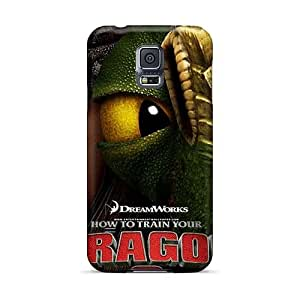 High Quality Phone Cover For Samsung Galaxy S5 With Custom Beautiful How To Train Your Dragon 2 Pattern SherriFakhry